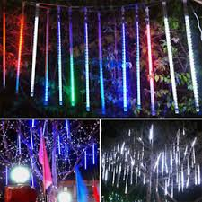 uk meteor shower falling drop icicle snow led tree
