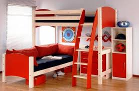 Modern Bunk Bed With Desk Modern Bunk Beds With Desk Riothorseroyale Homes The Best