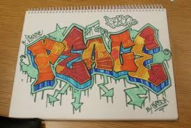 how to write your name in graffiti letters on paper through graffiti heart advocates for change mural music arts