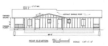 house plans with rear view view house plans modern ranch design o plan with in back