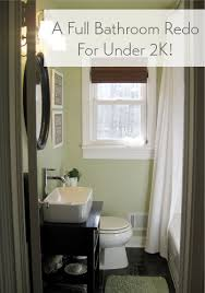 Steps To Remodel A Bathroom Our Bathroom Makeover Reveal A Full Reno For Under 2k Young