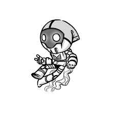 sketch robot astronaut by whitemaze on deviantart