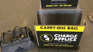 Frontier Carry On by Spirit Airlines Personal Item Free Bag 18