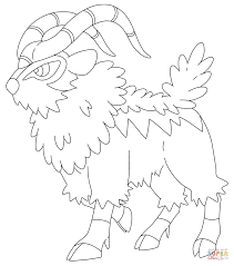 gogoat coloring page free printable coloring pages