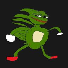 Green Man Meme - profile of meme man