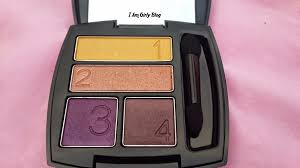 avon true colour eye shadow quad review swatches i am girly blog