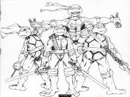 teenage mutant ninja turtles coloring pages the sun flower pages