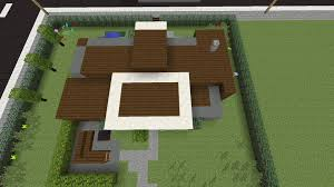 minecraft how to make a simple modern house xbox one