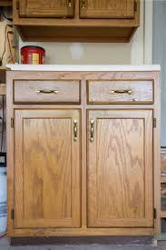 How To Sand Kitchen Cabinets Painted Furniture Removing Wood Grain For A Smooth Finish
