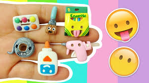 diy emoji craft supplies polymer clay tutorial