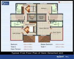 Tenement Floor Plan by Expat Properties I Ltd The Solitude Goa Enclave Bungalow