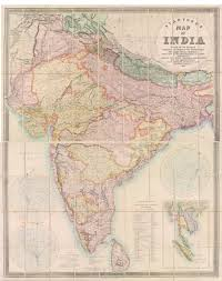 British India Map by Stanford U0027s Map Of India U201d By Edward Stanford Defining Lines