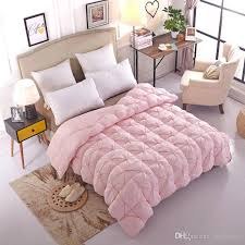 light pink down comforter 2018 pink white color 95 goose down comforter soft warm queen king