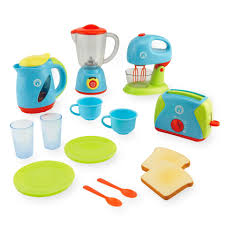 Deluxe Kitchen Play Set by Just Like Home Deluxe Appliance Set Toys