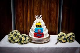 superhero wedding table decorations superhero wedding cakes that will make your day totally epic
