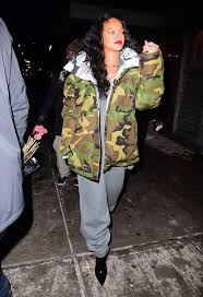 rihanna jumpsuit rihanna in jumpsuit out in nyc