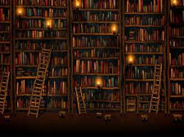 wallpaper that looks like bookshelves wallpaper of the week dim creaky library bookshelves gizmo s