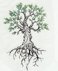 like branches on a tree we all grow in different directions yet