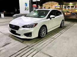 white subaru black rims nobody has aftermarket wheels yet page 8 5th gen subaru
