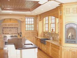 kitchen fresh clean wood kitchen cabinets interior design for