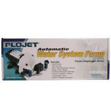 50 psi water pump flojet 2 9 gpm water pump xylem 03526144a fresh water pumps