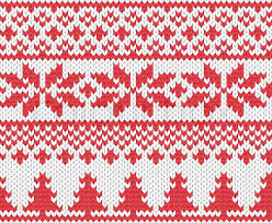 knitted christmas christmas knitted background stock vector colourbox