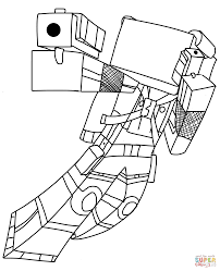 minecraft coloring pages best minecraft mobs coloring pages free