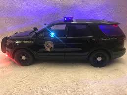 toy police cars with working lights and sirens for sale 1 18 scale diecast maryland state police ford suv w working lights