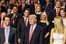 The Trump Family by Donald Trump Completes Takeover Of Republican Party Shell Time Com