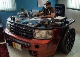 Car Office Desk Wondrous Design Car Office Desk Impressive Ideas Luxurious Custom