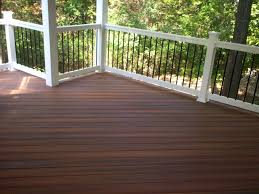 composite decking with a hardwood look st louis decks screened