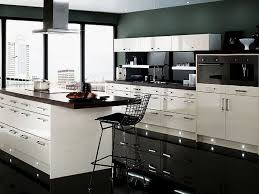 kitchen cabinets adorable design ideas of white black