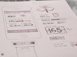 ui wireframe sketches