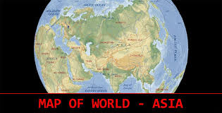 map world asia map of world asia travel