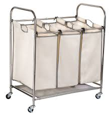 Laundry Hamper With Wheels by 3 Bag Laundry Hamper Sorter Cart On Wheels That You Ca Get For