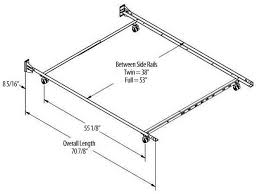 What Is Twin Size Bed by What Is The Dimension Of A Full Size Bed Frame Galleryimage Co