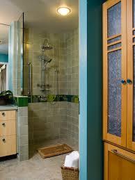 Simple Small Bathroom Open Shower Best  No Doors Ideas On - Open shower bathroom design