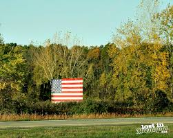 Michigans Flag Lost In Michigan Michigan U0027s Most Famous American Flagmichigan U0027s