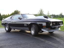 Mustang Mach One Mach 1 Mustang