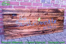 saunzee signs go green signs