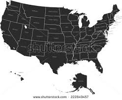 vector usa map united states map vector free vector stock