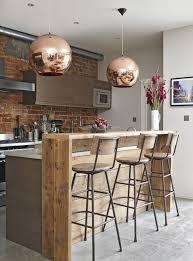 amenager un bar de cuisine 1001 idées déco pour aménager une cuisine style industriel