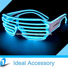 party sunglasses with lights personalized window shade el equalizer light up eye glasses for