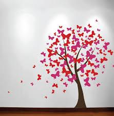 stickers papillon chambre bebe diy chambre de bébé décoration grand mur arbre bébé pépinière