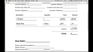 sample business report pdf how to make a business invoice excel pdf word youtube