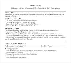 cover letter for pharmacy technician 64 images hospital