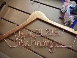 personalized wedding hangers wedding hangers for your wedding dress chic stylish weddings