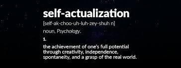 Define Selves - what is self actualization self actualization definition
