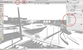 sketchup layout line color quick concept sketching using sketchup and photoshop sketchup 3d