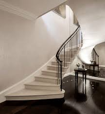 Interior Stairs Design In Duplex Apartments Project Pearl London 2015 This Duplex Apartment Occupies The